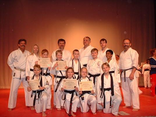 Black Belt Graduation Class March 2004