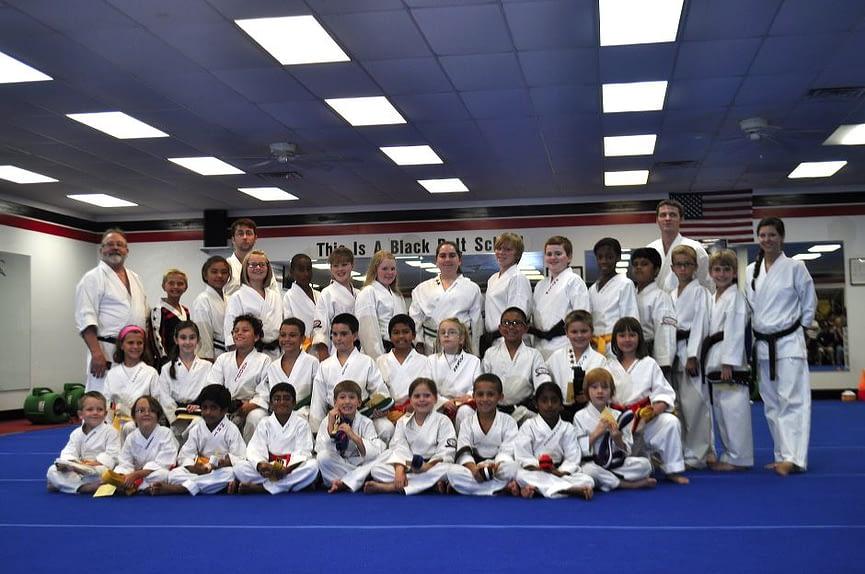 Children Teens and Adult Karate Graduation Class