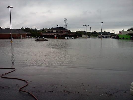 flooded-parking-lot