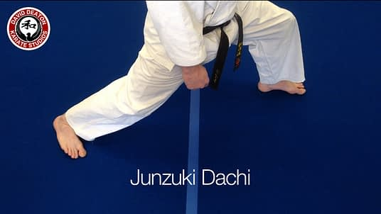 Junzuki Dachi Karate Stance