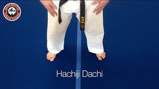 Hachiji Dachi Karate Stance