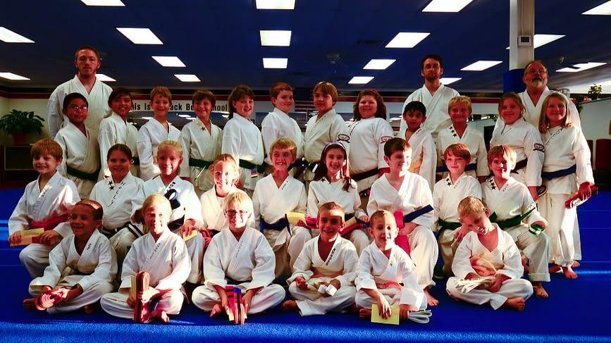 Childrens Karate Graduation