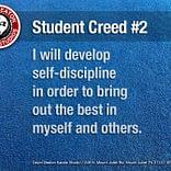 Student Creed No. 2