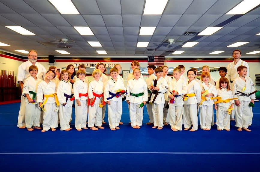 Childrens Karate Graduation Class