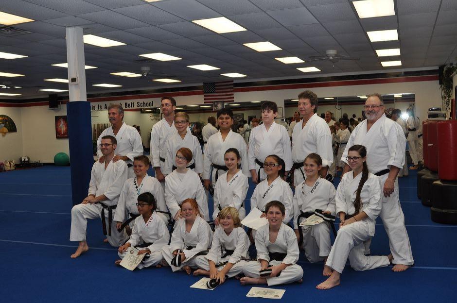 Mt Juliet Black Belt Graduation Class