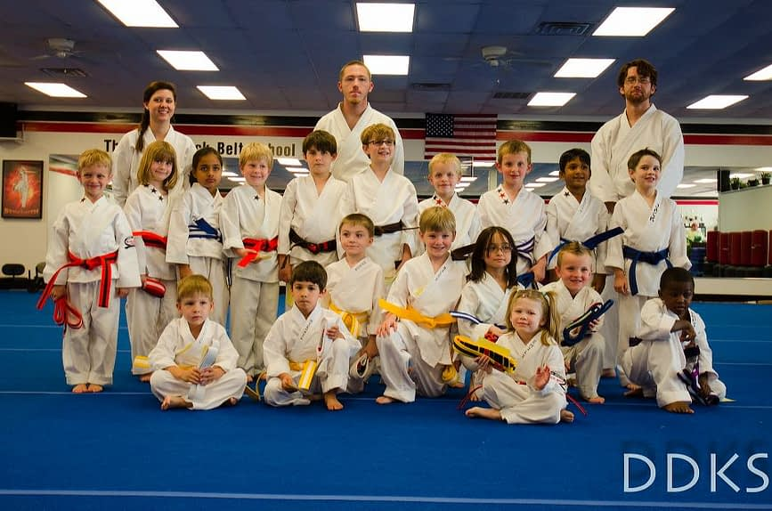 Little Dragons Karate Graduation Class for April 2012