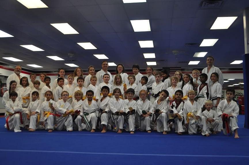Children Teens and Adult Karate Graduation