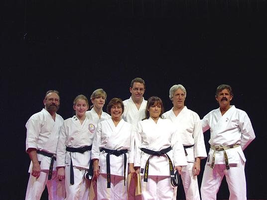Black Belt Graduation Class October 2004