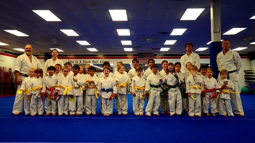 Little Dragons Karate Graduation Class March 9, 2012