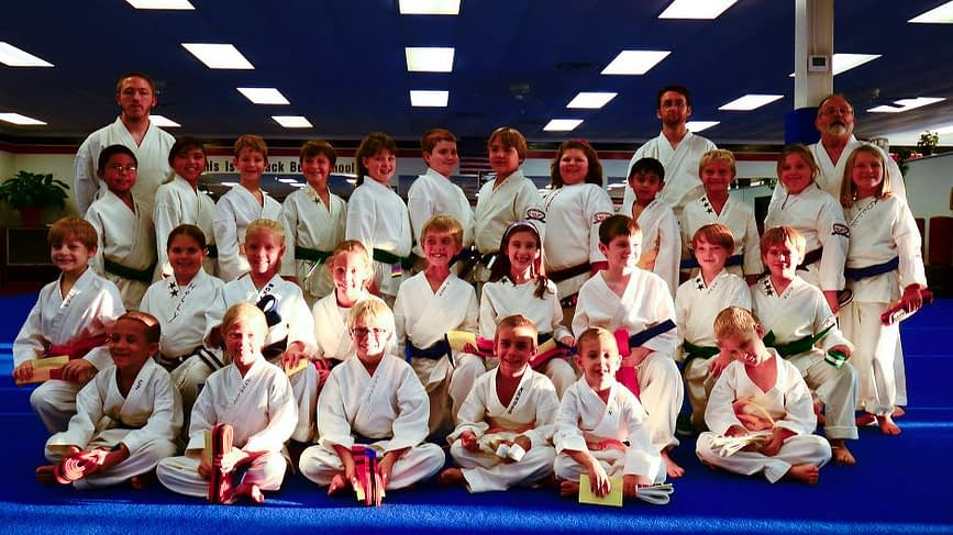 Childrens Karate Graduation
