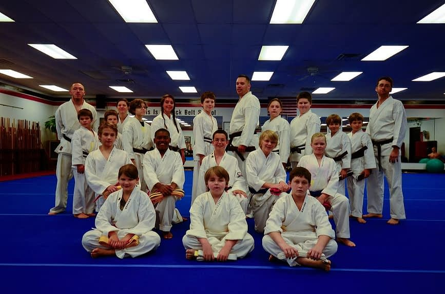 Teens and Adults Wado Ryu Karate Graduation