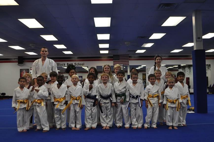 Little Dragons Karate Class Graduation