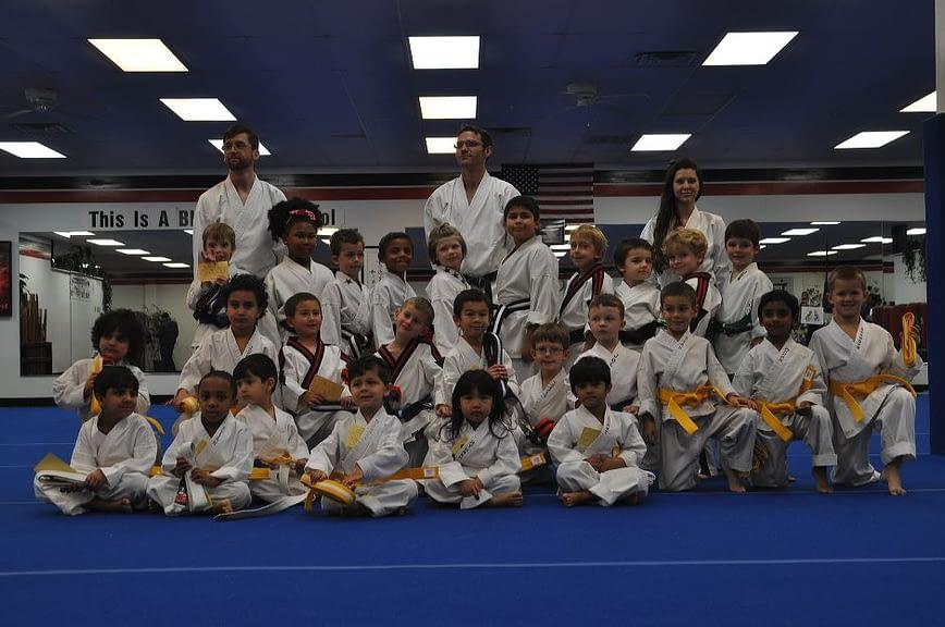 Little Dragons Karate Graduation