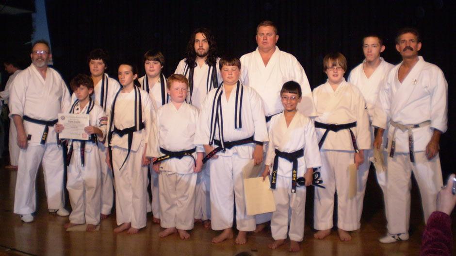 Wado Ryu Karate Black Belt Graduation Oct 27, 2007